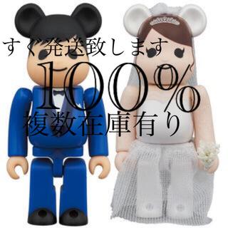 MEDICOM TOY - BE@RBRICK グリーティング 結婚 4 PLUS 100%