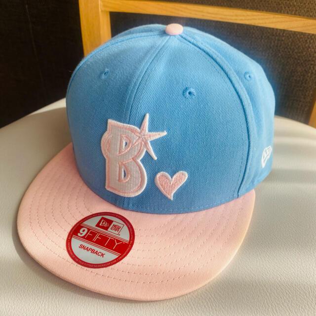 横浜DeNAベイスターズ(ヨコハマディーエヌエーベイスターズ)の横浜ベイスターズ キャップ ニューエラ スポーツ/アウトドアの野球(応援グッズ)の商品写真