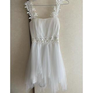 dazzy store - dazzy angels ビジュードレス♡ホワイト