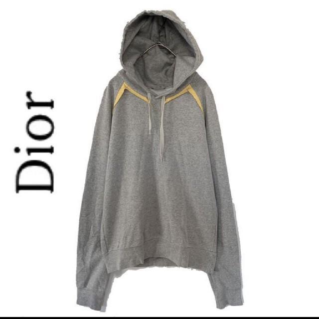 Christian Dior(クリスチャンディオール)のdior ディオール メンズ パーカー プルオーバー グレー メンズのトップス(パーカー)の商品写真