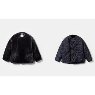 HYKE - HYKE FAUX FUR REVERSIBLE JACKET