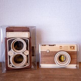 カルディ(KALDI)のカルディ カメラ 2個セット(菓子/デザート)