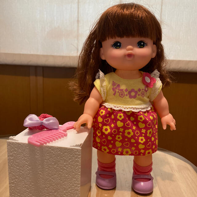 PILOT(パイロット)の【ご予約済み】メルちゃんのおともだち レナちゃんお人形セット キッズ/ベビー/マタニティのおもちゃ(ぬいぐるみ/人形)の商品写真