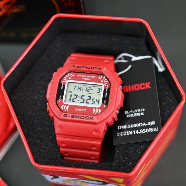G-SHOCK(ジーショック)のG-SHOCK 限定品 DW-5600DA-4JR 達磨★日本製 メンズの時計(腕時計(デジタル))の商品写真