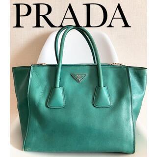 PRADA - PRADA プラダ ハンドバッグ グリーン