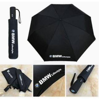 BMW 自動開閉式 車用傘 超大きい 折りたたみ傘(車内アクセサリ)