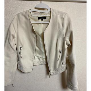rienda - rienda リエンダホワイトジャケット