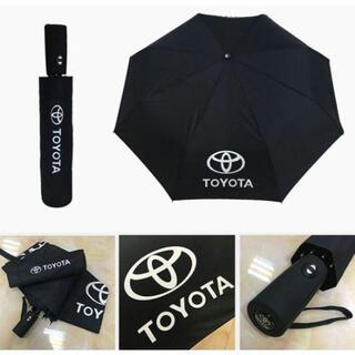 トヨタ 自動開閉式 車用傘 超大きい 折りたたみ傘(車内アクセサリ)