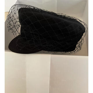 Christian Dior - DIOR チュールキャスケット 59サイズ