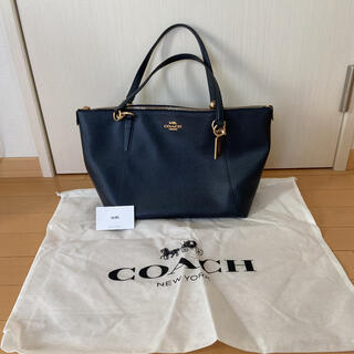 COACH - ★コーチ トートバッグ ネイビー ★