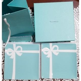 Tiffany & Co. - TIFFANY&Co. ティファニー ブルーボウデザートプレートセット