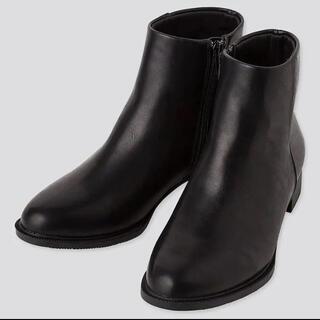 UNIQLO - UNIQLO ショートブーツ ブーツ