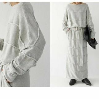 antiqua - アンティカ✨綿セーター&スカート
