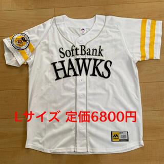 福岡ソフトバンクホークス - ホークス ユニフォーム Lサイズ マジェスティック製