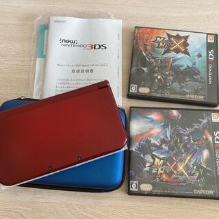 ニンテンドー3DS(ニンテンドー3DS)のNintendo 3DS NEW ニンテンドー 本体 LL メタリックレッド(携帯用ゲーム機本体)