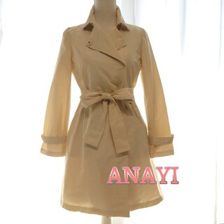 ANAYI - ANAYI アナイ トレンチコート スプリングコート 薄手 美シルエット