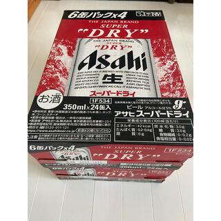 アサヒ - アサヒスーパードライ350ml×24缶入り2箱セット BEER
