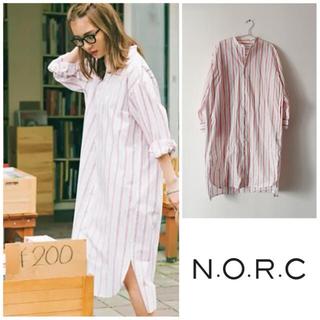 DEUXIEME CLASSE - ¥17280 n.o.r.c ノーク シャツ ワンピース ロングシャツ 羽織り