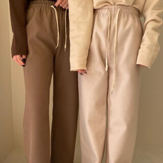 TODAYFUL - cotton rafu pants 【lawgy】Ivory