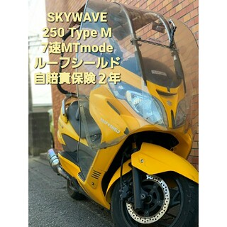 スズキ - スカイウェイブ SKYWAVE 250 TYPEM CJ45 マニュアルモード