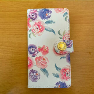 スマホケース マルチケースタイプ 花柄(iPhoneケース)