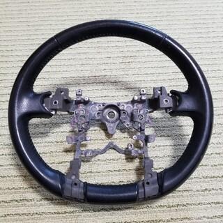 トヨタ - 30 プリウス前期 純正革巻きステアリング