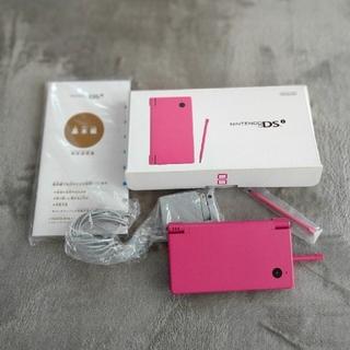 任天堂 - 動作確認済ニンテンドーDSi本体(ピンク)+USB充電器+タッチペン 箱