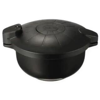 マイヤー(MEYER)の★未使用★マイヤー 電子レンジ圧力鍋 <2.3リットル>ブラック(調理機器)