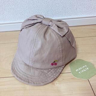 petit main - 帽子 キャップ くすみカラー