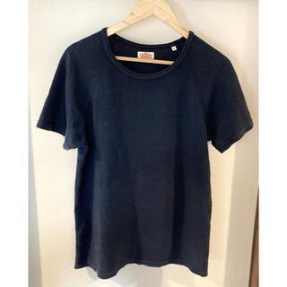 ハリウッドランチマーケット(HOLLYWOOD RANCH MARKET)のハリウッドランチマーケット Tシャツ サイズ4 ネイビー(Tシャツ/カットソー(半袖/袖なし))