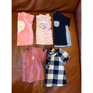 西松屋 - (60-70)半袖 Tシャツ
