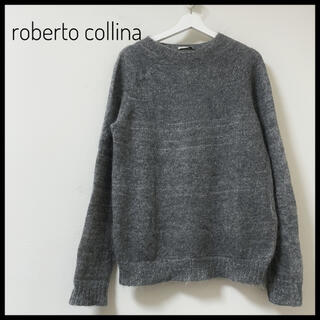 ロベルトコリーナ(ROBERTO COLLINA)のroberto collina スーパーキッドモヘア ニットセーター 春(ニット/セーター)