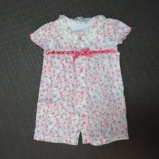 ニシキベビー(Nishiki Baby)のNishiki Baby 新生児ツーウェイオール 小花柄(カバーオール)