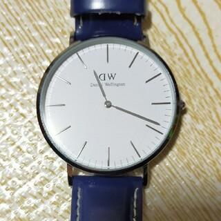 Daniel Wellington - ダニエルウェリントン腕時計 メンズ 40mm シルバー 本革