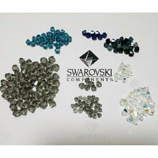 スワロフスキー(SWAROVSKI)の《朝比奈むぎのん様 専用》SWAROVSKI 10種類 & ラウンド型 4種類(各種パーツ)