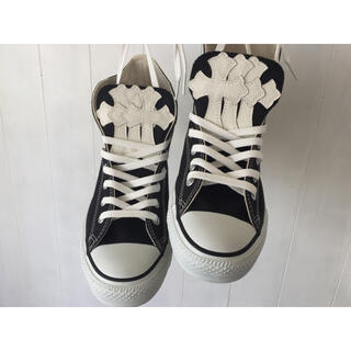 CONVERSE - chromehearts type converse chack tayler