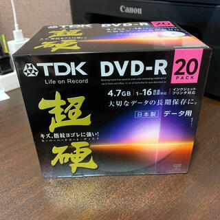 ティーディーケイ(TDK)の【週末限定値下げ】超硬 DVD-R 20枚入(その他)