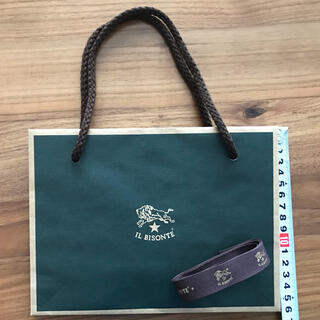 イルビゾンテ(IL BISONTE)のイルビゾンテ  ショップ袋&リボン(ショップ袋)
