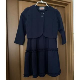 ミキハウス(mikihouse)のフォーマルワンピースとジャケットのセットアップ ミキハウス 110(ドレス/フォーマル)