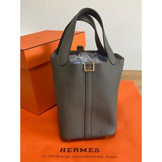 Hermes - 新品未使用 HERMES ピコタンロック PM グリ・エタン ゴールド金具