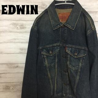 EDWIN - EDWIN エドウィン ジージャン デニムジャケット Gジャン