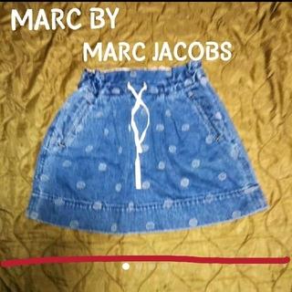 マークバイマークジェイコブス(MARC BY MARC JACOBS)のMARC BY MARC JACOBS 柄 デニムスカート(ひざ丈スカート)