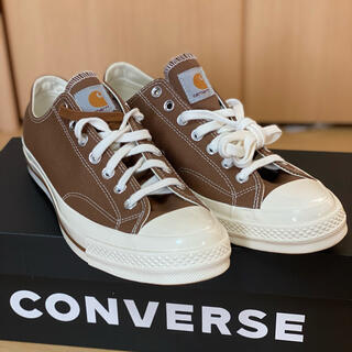 CONVERSE - 27.5cm carhartt × converse ct70 チャックテイラー