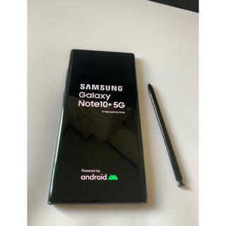 SAMSUNG - Galaxy Note 10+ 5G Black 256GB SIMフリー