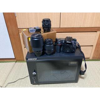 Nikon - Nikon D7200 レンズ 予備バッテリー 防湿庫