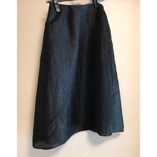 シビラ(Sybilla)のフォーマル ロングスカート ブラック ラメ イトキン シビラ(ロングスカート)