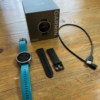 ガーミン(GARMIN)のGarmin fenix5s ガーミン 168535(腕時計(デジタル))