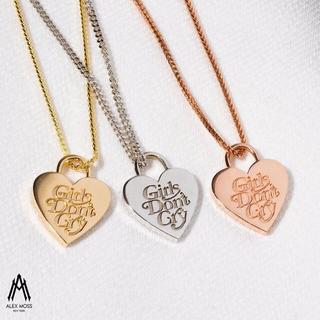 GDC - GDC HEART NECKLESS(K14 WHITE GOLD 5G)