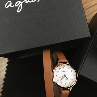 agnes b. - アニエスベー 腕時計 ソーラー