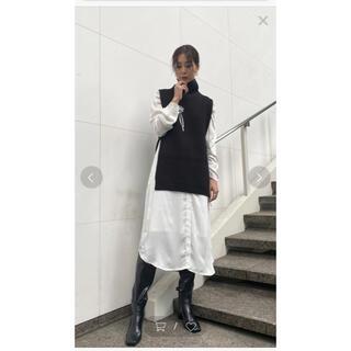 Ameri VINTAGE - AMERI VEST LAYERED SHIRT DRESS